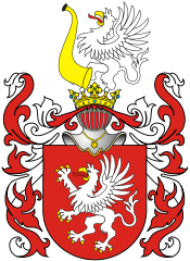 """Gryf"" coat of arms used by many noble families in medieval Poland."