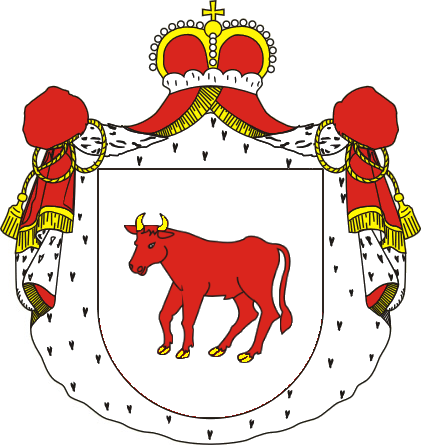 Coat of Arms of Princes Poniatowski since 1764